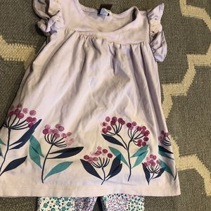 Tea Collection Tunic & Leggings Set 9-12 months